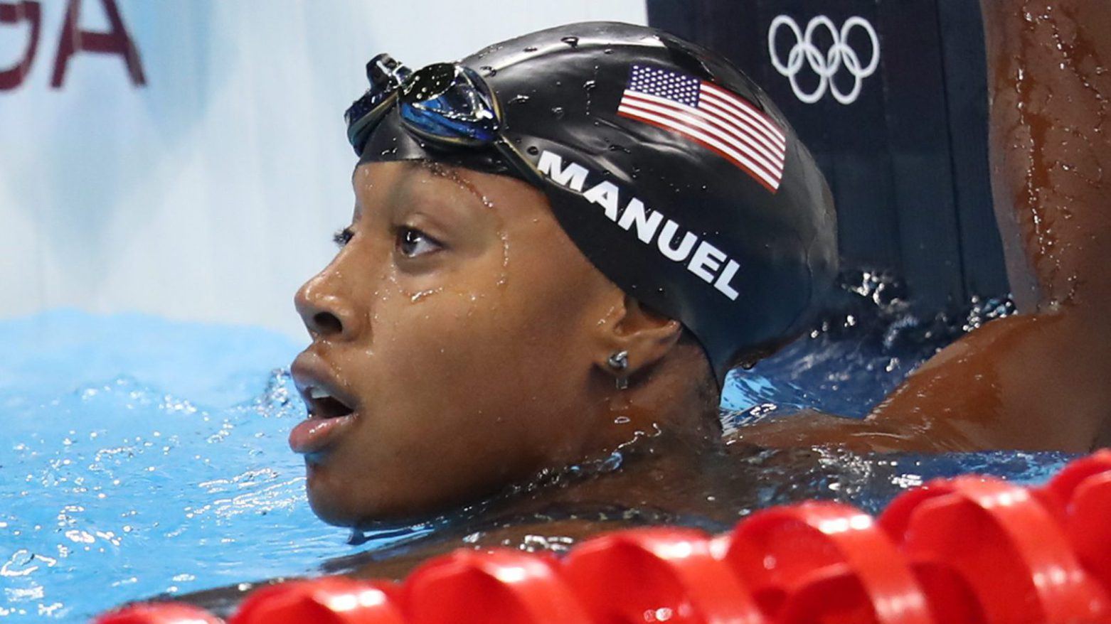 African-American Female Hair and the Pool